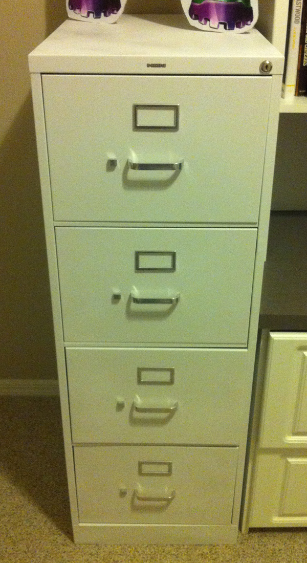 Collecting Comics Using A Legal File Cabinet For Storage