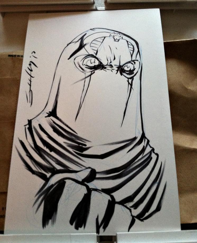 Tim Seeley Sketch for Mike Boyd - Boston 2013