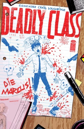 Deadly Class 9 Cover