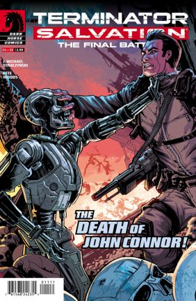 Terminator Salvation - The Final Battle 11 Cover