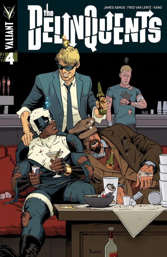 The Delinquents 4 Cover