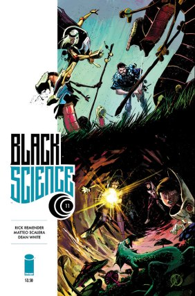 Black Science 11 Cover