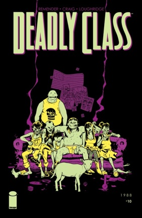 Deadly Class 10 Cover