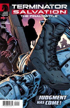 Terminator Salvation - The Final Battle 12 Cover