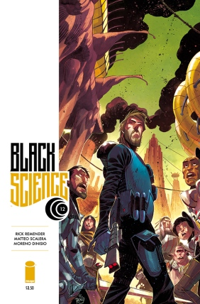 Black Science 12 Cover