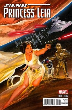 Princess Leia #1 Ross Variant
