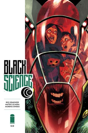 Black Science 13 Cover