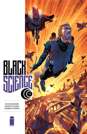 Black Science 15 Cover