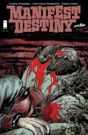 Manifest Destiny 15 Cover
