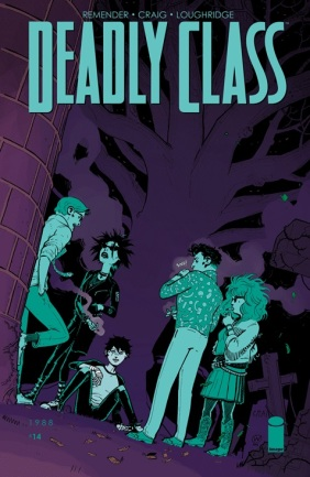 Deadly Class 14 Cover
