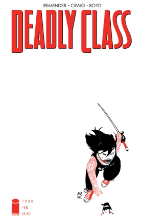 Deadly Class 15 Cover