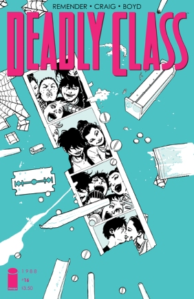 Deadly Class 16 Cover