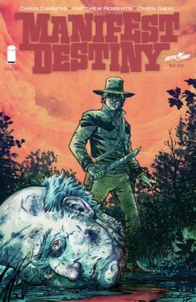 Manifest Destiny 17 Cover
